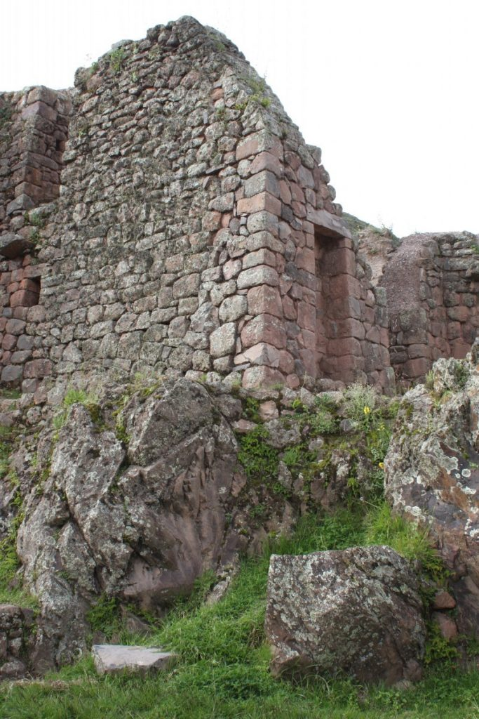 Part of Pisac's fortress