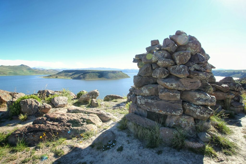 Pre Incan tower