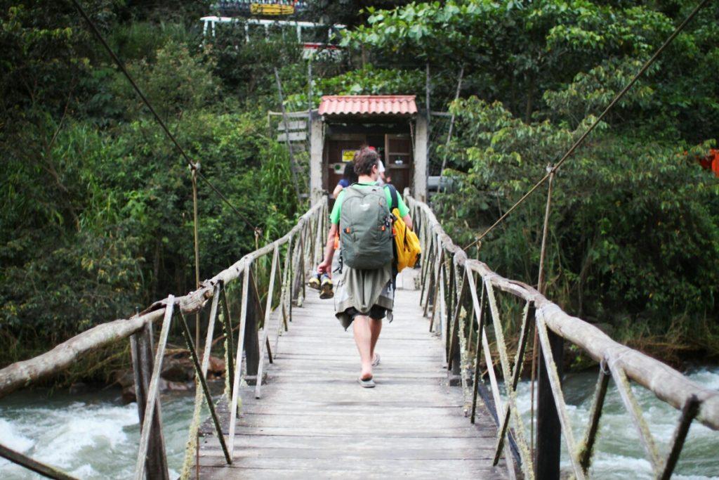 The bridge to La Sende Verde